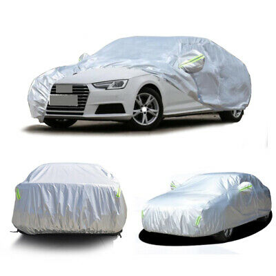 Car Cover Waterproof All Weather Car Covers For Ford Fiesta Sedan 2011-2019