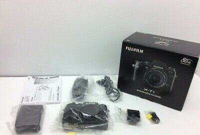 Fujifilm X-T1 Black Mirrorless Digital Camera Body /w Box