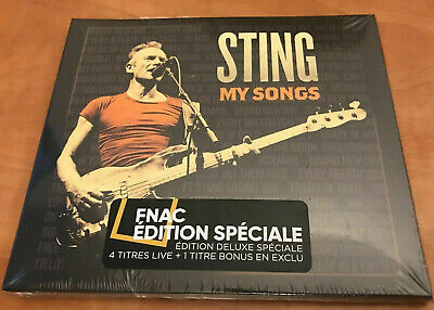 STING MY SONGS  rare LIMITED 20-TRACKS EDITION 2 CD 4 BONUS live + 1 remix