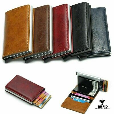 Wallet For Men Slim Mini Like Secrid Aluminium RFID Blocking Credit Cards Holder