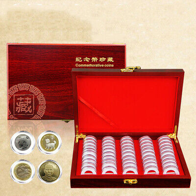 100Coins Display Storage Box Collectible Case For Certified Coin Protection