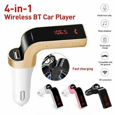 Wireless Bluetooth Car Kit FM Transmitter Radio MP3 Player Charger USB Handsfree