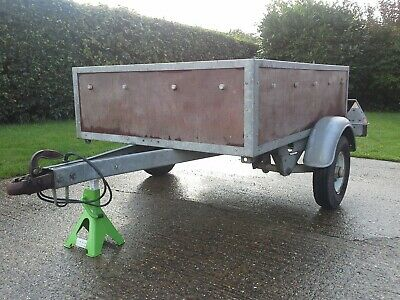 Car Trailer Galvanised German made Good Quality (Louth Lincs).