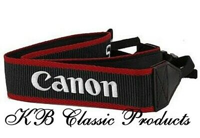 Canon EOS Digital Embroidered Camera Strap  - NEW