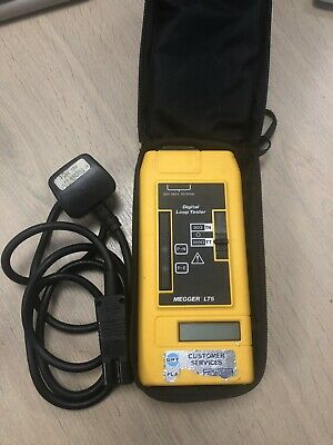 Avo Megger Lt5 Loop Tester, Cable & Case