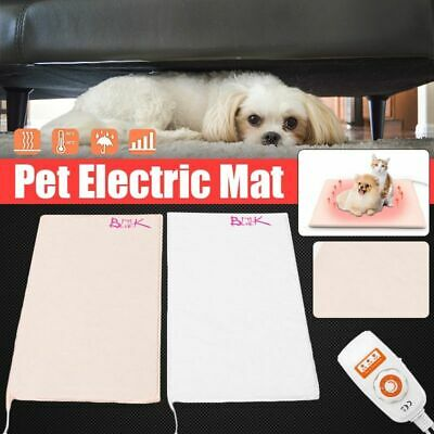 Electric Heaters Mat Waterproof Adjustable Pet Winter Heating Blanket Carpet