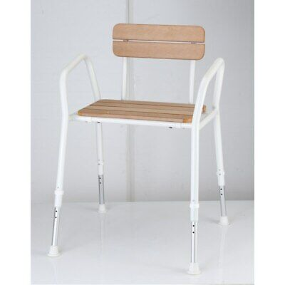 Shower Chair C45-T Hd Timber Look