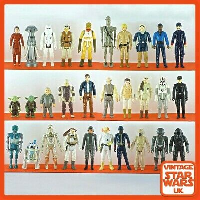 Vintage Star Wars Empire Strikes Back Original Loose Action Figures 1980 -1982