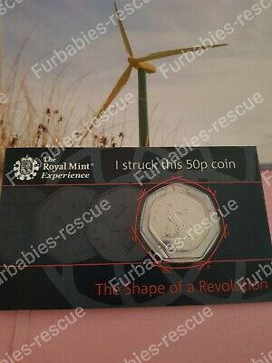 Royal Mint Tour Strike Your Own 50p Rare Collectors Anniversary Coin Privy Mark