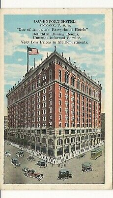 Spokane, Wash.  EC Kropp white border card, Davenport Hotel
