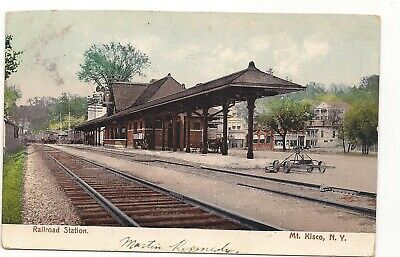 Undivided Back, Mt. Kisco. NY. RR Station