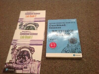 Edexcel GCSE 9-1 Combined Science Higher Revision Guide And X 2 Workbooks