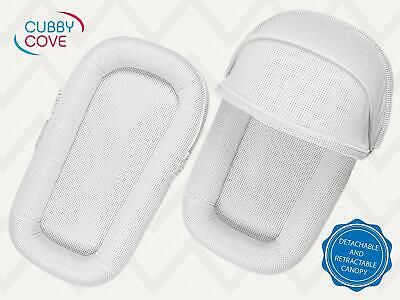 CubbyCove Classic The Truly Breathable Baby Lounger Portable Nest for Cosleeping
