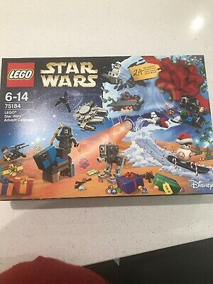 LEGO 75184 STAR WARS ADVENT CALENDAR, Never Opened. 24 Gifts, BB-8.