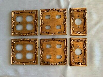 1966 Sherle Wagner set of Switch Plates and Plug Plates