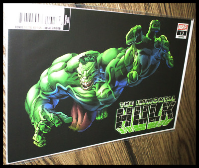 The Immortal Hulk #13 (2019) 3Rd Print Bennett Variant Marvel Comics 9.2 Nm-
