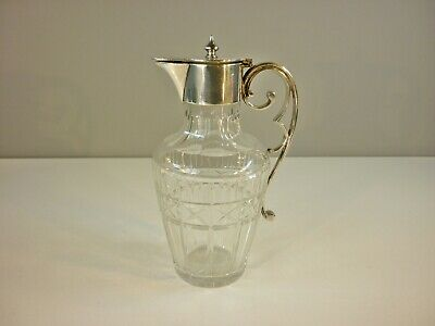 Antique Cut Glass Claret Jug - Liqueur Decanter by Bradley & Blake