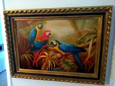A Museum Quality Piece:Timeless Treasures Oil Painting Authenticity Signed