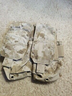 Eagle Industries AOR1 Double 5.56 (2x2) Magazine Pouch MOLLE Navy SEAL MODIFIED