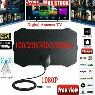 Amplified HD TV Antenna Free Channels Range Signal Live Wave Livewave Style HDTV