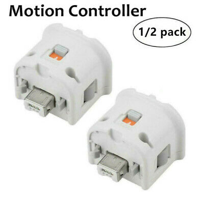 Game Motion Plus Adapter Sensor for Nintendo Wii Console Remote Controller White