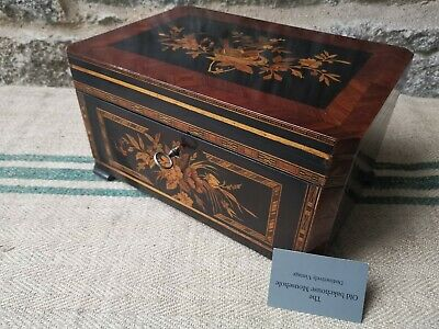 A Decorative Inlaid French Jewellery Box