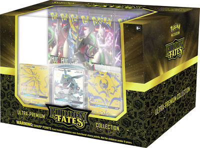 Hidden Fates Ultra Premium Collection Sealed Box In Stock!