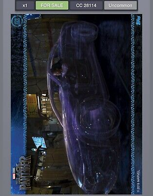 Topps MARVEL DIGITAL Card Trader - BLACK PANTHER MOVIE STILLS - CARD #1