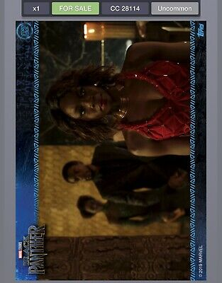 Topps MARVEL DIGITAL Card Trader - BLACK PANTHER MOVIE STILLS - CARD #2