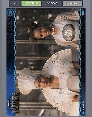 Topps MARVEL DIGITAL Card Trader - BLACK PANTHER MOVIE STILLS - CARD #25