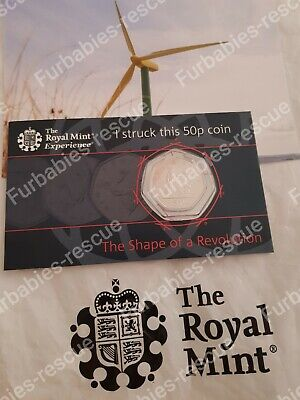 The Shape of a Revolution 50 Years Of The 50p  Royal Mint Strike Your Own RARE