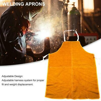 Welding Apron Flame-resistant Leather Protective Clothing Wear-resistant Cover