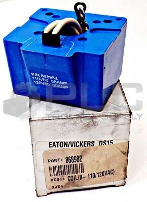 NEW Vickers P//N 508169 110V50 120V60 SOLENOID COIL 8C6