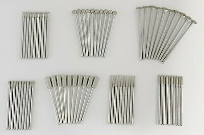 "70 Pc Set Dremel Diamond Wheel Points (3/32"") 7103 7105 7120 7122 7123 7134 7144"