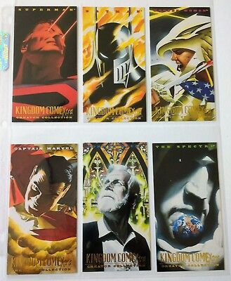 DC's Kingdom Come Xtra Complete Set of 6 Creator Collection cards Alex Ross Art