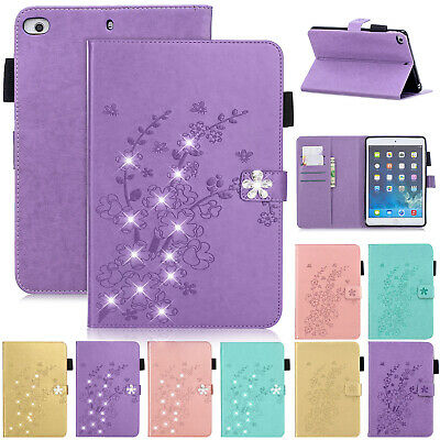 """For iPad 10.2"""" 7th Generation 2019 Magnetic Leather Flip Wallet Stand Case Cover"""