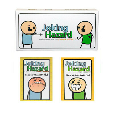 Joking Hazard Core Game / #1 / #2  Expansions card game for Family Social Mafia