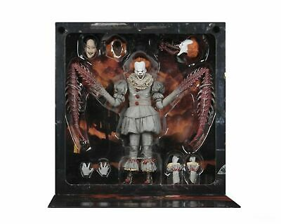 """NECA IT Ultimate Pennywise The Dancing Clown 2017 7"""" Action Figure 1:12 Scale US"""