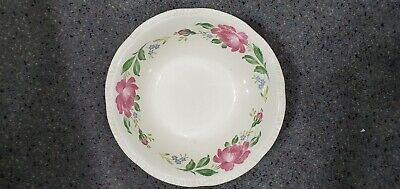 "Vintage Homer Laughlin Roses China~Serving Bowl~9"" x 3"" Tall"