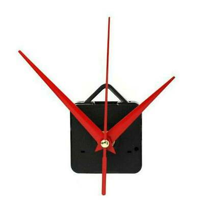 Red&Black Clock Quartz Movement Mechanism Hands Repair Wall Part DIY Tools Kit