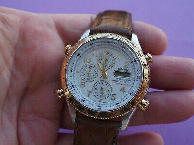 MONTRE H CASIO Authentique Illuminator Chronographe Mwa 810  KEYtw