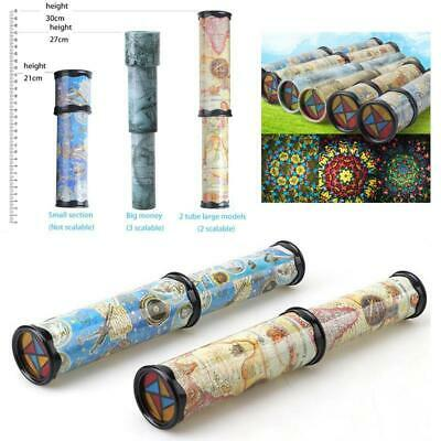 Classic Retro Toys Kaleidoscope Rotating Colorful World Kids Gift Party Toy-21cm
