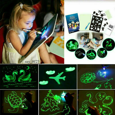 Draw With Light Fun And Developing Toy Drawing Board Magic Draw Educational ANX