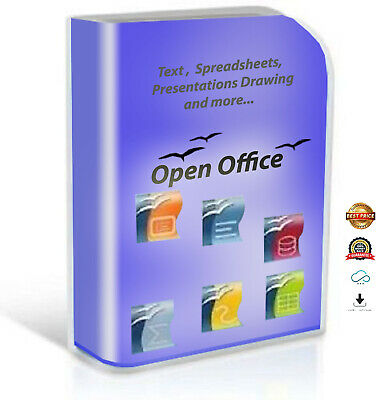 OPEN OFFICE 2019 Pro Edition for Microsoft Windows for Home & Student inc. Word