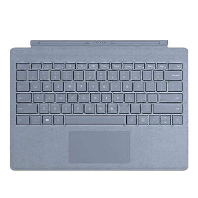 Microsoft Surface Pro Signature Type Cover Ice Blue - Full keyboard experience -