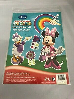 Disney Minnie & Mickey Mouse Wall Art Stickers Great for Walls Bikes Suitcases