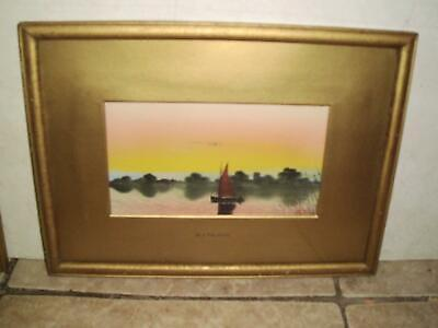 N J Palmer English School Lakeland Landscape Oil Late C19Th To Early C20Th
