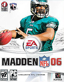 Madden NFL 2006 by Electronic Arts