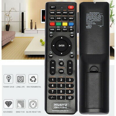 Universal LCD/LED/3D TV Remote for Samsung/Hisense/TCL/PHILIPS/SHARP/HITACHI/LG