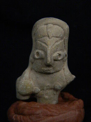 Ancient Teracotta Mother Goddess Torso Indus Valley 2000 BC No Reserve #TR15166
